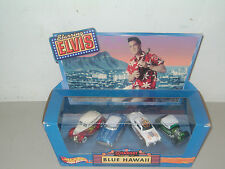 HOT WHEELS MULTI-CAR (4) COLLECTOR SET: ELVIS (PRESLEY) BLUE HAWAII (TARGET)