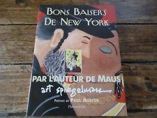 ART- BON BAISERS DE NEW YORK - SPIEGELMAN - BD UNDERGROUND MAUS PRIX PULITZER