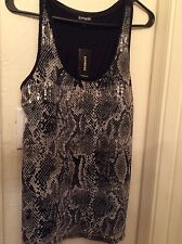NWT EXPRESS SNAKE PRINT SEQUENCED TANK SIZE M $49.50 sold out must have