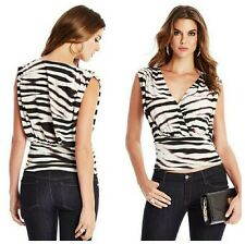 💕💞 GUESS BY MARCIANO FIERCE TIGER-PRINT TOP 💕💞