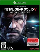 New! Metal Gear Solid V: Ground Zeroes (Xbox One, 2014) - Ships Worldwide!