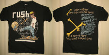 RUSH Shirt M 1991 NEW VINTAGE Rolling The Bones US Tour Pushead HTF RARE OOP