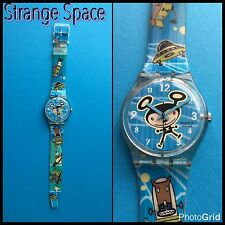 """Swatch """"Strange Space"""" collezione 2002 nuovo e introvabile.Rare and unworn."""