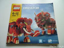 LEGO Notice Instruction / 4892 Prehistoric Power