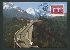 BUND MK 1984 EUROPA CEPT BRIDGE MAXIMUMKARTE CARTE MAXIMUM CARD MC CM d9079