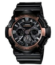 Casio G Shock * GA200RG-1A Anadigi Rose Gold & Black Gshock Watch COD PayPal