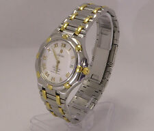 Concord Saratoga CHRONOMETER (COSC) SS+18k Gold Vintage Swiss Watch - 15.D4.235G