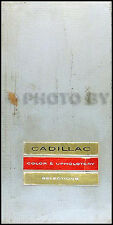 1964 Cadillac Color and Upholstery Dealer Album Showroom Book for all models