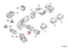 Genuine BMW E39 Estate Saloon Cigarette Lighter Plug Socket OEM 61346977677