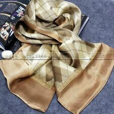 Mens 100%  Silk Long Scarf __For Spring Autumn Winter_Great Gfits