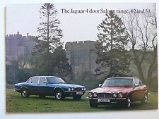 Prospekt - The Jaguar 4 door Saloon range XJ S2: 4.2 L, XJ 5.3 L, 12.1978, 16 S.