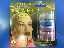 Drag Attack Stack Makeup Queen Face Paint Dress Up Halloween Costume Accessory