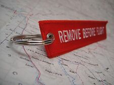 Remove Before Flight Keychain 2 Pack- tad bit of skydiving / aviation 5.11 gear