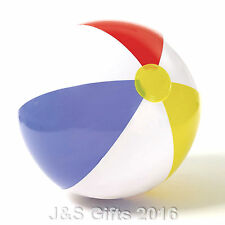 "New Inflatable Blow up Panel Beach Ball 20"" 51cm Swimming Party Fun For Holiday"