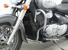Motorschutzbügel BIG Ø30mm Protection guard chrom  Suzuki Intruder VL800  2009►