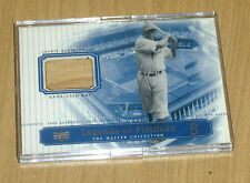 2000 Upper Deck Master Collection game used bat relic Jackie Robinson 100/250
