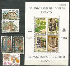 ANDORRA Año 1978 Completo