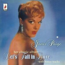 JANIS PAIGE - LET'S FALL IN LOVE  CD NEU