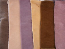 Nuevo: Mini mohair - 6 x 20 x 35 cm en varios Tonos marrones, Florl. 3 mm