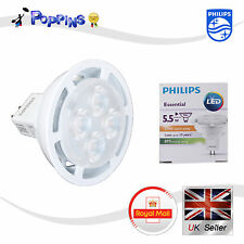 Philips LED MR16 5.5W GU5.3 12V AC 24D 640mA 415 lm 2700K Blanc Chaud