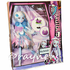 Monster High Abbey Bominable Ghouls Ghoul's Rule Doll (2012 Mint Boxes, Rare)