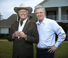 Larry Hagman & Patrick Duffy UNSIGNED photo - P2631 - Dallas