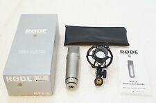 RODE NT1-A Condenser Microphone NT-1A w/ Shock Mount, Case