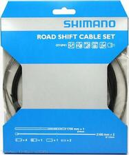 Shimano Road Bike Derailleur Shift Cable Set Stainless Steel Black SP41 Housing