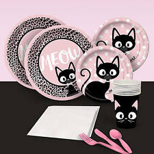 Cat Diva Basic Party Pack.  adorable kitten themed Birthday
