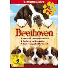 JULIA SWEENEY,KALEIGH KRISH,JUDGE REINHOLD - BEETHOVEN 4-6  (3 DVD)  NEU