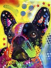 New! French Bulldog by Dean Russo Animal Art Dog Wall Print Home Decor 738695