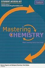 MasteringChemistry Student Access Kit for General, Organic and Biological Chemis