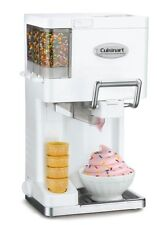 Cuisinart Ice Cream Maker Soft Serve Electric Frozen Yogurt Sorbet Automatic NEW