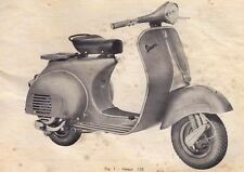 VINTAGE VESPA SCOOTER DRAWING NEW ART PRINT POSTER YF1435