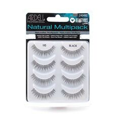 ARDELL 110 Natural Multipack False Eye Lashes - 4 pairs Black