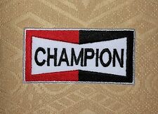 Vintage Champion Sparkplugs Iron-on/ Sew-on Embroidered Patch / Badge/ Logo