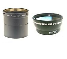 Wide lens + Tube Adaptor DMWLA7 bundle for Panasonic DMC-FZ200 DMC-FZ200K