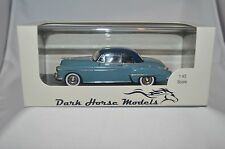 1950 OLDSMOBILE COUPE 1:43 SCALE TWO TONE BLUE