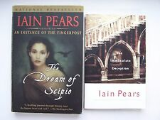 Iain Pears Paperback Thriller Mystery Book Lot