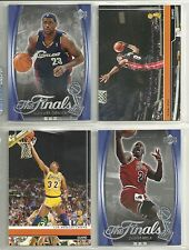 2007 The NBA Finals 4-Card Special Set - M Jordan & L James & D Wade & M Johnson