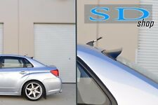 08-14 Subaru WRX Impreza sedan REAR roof window VISOR 08 09 10 11 12 13 14