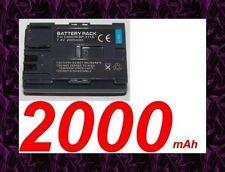 ★★★ 2000mAh BATTERIE Lithium ion ★ Pour Canon MVX100i / MVX150i