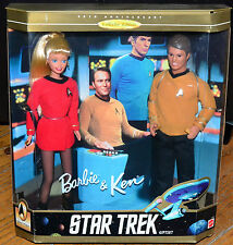 1996 Barbie & Ken Star Trek Gift Set Collector Edition 15006 NRFB