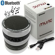 Mini Enceinte Bluetooth Speaker MP3 noir Smartphone Tablette iPhone 6 6S 5 5S 5C