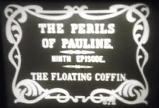 Super 8mm Film - THE PERILS OF PAULINE - Chapter 8 & 9 - Silent 1914