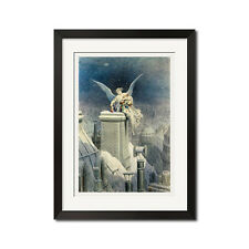 Gustave Dore Christmas Eve Poster Print