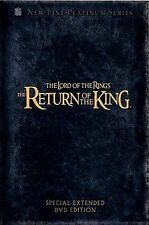 The Lord of the Rings: The Return of the King (DVD, 2004, 4-Disc Set,...