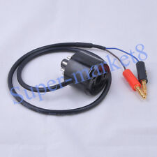 2pc 8Pin Tube Bias Probe Cable Saver Socket Tester 6L6 EL34 KT88 5881 Current