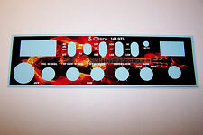 Cobra 148 GTL Front Mic Face Plate Decal CB Radio any Design/Color Connex Galaxy