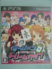 PS3 Mahjong Dream club Japan F/S